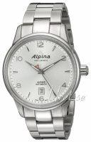 Alpina Alpiner Miesten kello AL-525S4E6B Hopea/Teräs Ø41.5 mm