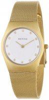 Bering Classic Naisten kello 11927-334 Valkoinen/Kullansävytetty