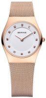 Bering Classic Naisten kello 11927-366 Valkoinen/Punakultasävyinen