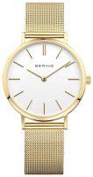 Bering Classic Naisten kello 14134-331 Valkoinen/Kullansävytetty