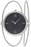 Calvin Klein Agile Naisten kello K2Z2S111 Musta/Teräs Ø30 mm