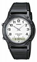 Casio Casio Collection Miesten kello AW-49H-7BVEF Valkoinen/Muovi