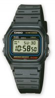 Casio Casio Collection Miesten kello W-59-1VQES Muovi 37.1x33.6 mm