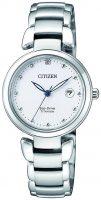 Citizen Titanium Naisten kello EW2500-88A Valkoinen/Titaani Ø29 mm