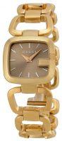 Gucci G Gucci Naisten kello YA125511 Ruskea/Kullansävytetty teräs