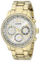 Guess Naisten kello U0559L2 Valkoinen/Kullansävytetty teräs Ø42 mm