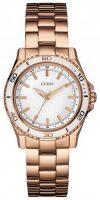 Guess Naisten kello W0557L2 Valkoinen/Punakultasävyinen Ø36 mm