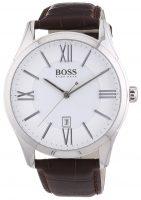 Hugo Boss Ambassador Miesten kello 1513021 Hopea/Nahka Ø44 mm