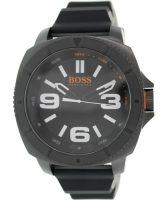 Hugo Boss Sao Paulo Miesten kello 1513106 Musta/Kumi Ø50 mm