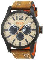 Hugo Boss Paris Miesten kello 1513237 Beige/Nahka Ø47 mm