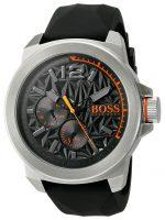 Hugo Boss New York Miesten kello 1513346 Musta/Kumi Ø50 mm