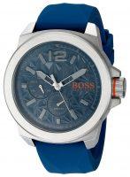 Hugo Boss New York Miesten kello 1513348 Sininen/Kumi Ø51 mm