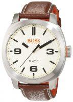 Hugo Boss Cape Town Miesten kello 1513411 Antiikki valkoinen/Nahka