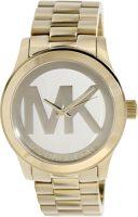 Michael Kors Runway Naisten kello MK5473 Samppanja/Kullansävytetty teräs
