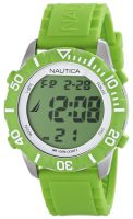Nautica NSR Miesten kello N09926G LCD/Muovi Ø44 mm