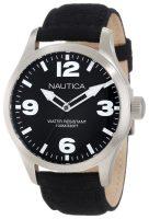 Nautica BFD 102 Miesten kello N11556G Musta/Nahka Ø44 mm