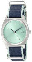 Nixon The Time Teller Naisten kello A0452075-00 Sininen/Tekstiili