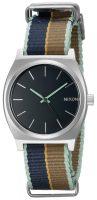 Nixon The Time Teller Naisten kello A0452079-00 Musta/Tekstiili