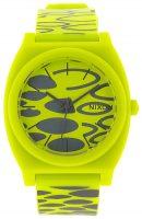 Nixon The Time Teller A119590-00 Keltainen/Muovi Ø39 mm