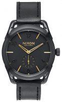 Nixon 99999 Miesten kello A459010-00 Musta/Nahka Ø38 mm