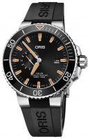 Oris Diving Miesten kello 01 743 7733 4159-07 4 24 64EB Musta/Kumi Ø45.5