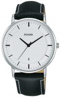 Pulsar Dress Miesten kello PG8255X1 Valkoinen/Nahka Ø38 mm