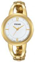 Pulsar Dress Naisten kello PH8206X1 Valkoinen/Kullansävytetty teräs Ø33