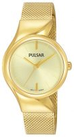 Pulsar Attitude Naisten kello PH8234X1 Samppanja/Kullansävytetty