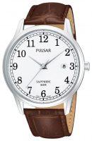 Pulsar Dress Miesten kello PS9055X1 Valkoinen/Nahka Ø41 mm
