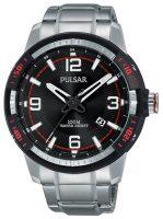Pulsar Pulsar X Miesten kello PS9475X1 Musta/Teräs Ø45 mm