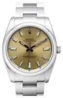 Rolex Perpetual 34 Miesten kello 114200-0022 Samppanja/Teräs Ø34 mm
