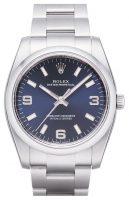 Rolex Perpetual 34 Miesten kello 114200-0014 Sininen/Teräs Ø34 mm