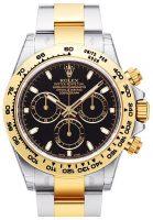 Rolex Cosmograph Daytona Miesten kello 116503-0004 Musta/18K keltakultaa