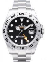 Rolex Explorer II Miesten kello 216570-0002 Musta/Teräs Ø42 mm