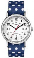 Timex Weekender Naisten kello TW2P66000 Valkoinen/Tekstiili Ø38 mm