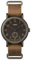 Timex Weekender Miesten kello TW2P86800 Musta/Teräs Ø40 mm