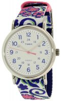 Timex Weekender Naisten kello TW2P90200 Valkoinen/Tekstiili Ø38 mm