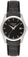 Tissot Naisten kello T035.210.16.051.00 Musta/Nahka Ø33 mm