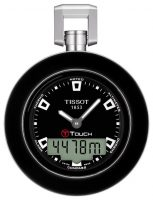 Tissot T-Pocket Pocket Touch T857.420.19.051.00 Musta Ø48 mm