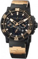 Ulysse Nardin Marine Collection Diver Black Sea Miesten kello 353-90-3