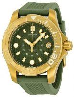 Victorinox Dive Master Naisten kello 241557 Vihreä/Kumi Ø38 mm