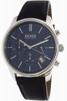 Hugo Boss Time One Miesten kello 1513431 Sininen/Nahka Ø42 mm