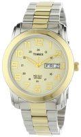 Timex Classic Elevated Miesten kello T2N439 Samppanja/Kullansävytetty