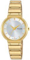 Pulsar Attitude Naisten kello PH8334X1 Hopea/Kullansävytetty teräs Ø28