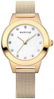 Bering Classic Naisten kello 11125-334 Valkoinen/Kullansävytetty