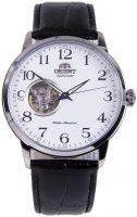Orient Classic Miesten kello RA-AG0009S10B Valkoinen/Nahka Ø41 mm