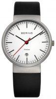 Bering Titanium Miesten kello 11036-404 Valkoinen/Nahka Ø37 mm
