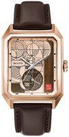 Bulova Frank Lloyd Wright Miesten kello 97A135 Punakultaa/Nahka