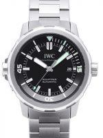 IWC Aquatimer Automatic Miesten kello IW329002 Musta/Teräs Ø42 mm