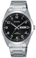 Pulsar 99999 Miesten kello PJ6063X1 Musta/Teräs Ø38 mm